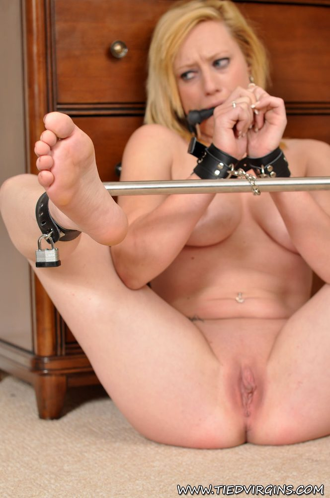 axa loon stripped naked gagged and put earn spreader bar bondageco