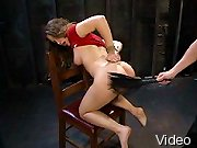BDSM Movies Babe in latex bondaged tight and BdsmTheory.com