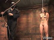 BDSM Movies Helpless chick in bondage and