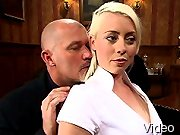 BDSM Movies Hot secretary gets her bondage and