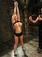 Sexual BDSM Hot Candy Manson bondaged hard and smutbdsm.com