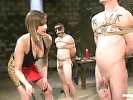 Maitresse Madeline turns out three newbie