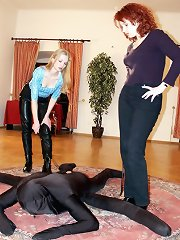 Mistress` male slaves
