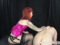 Mistress punished slave very hard