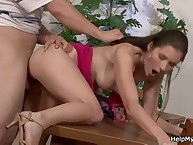 Sissy husband Watches His Wife Cheating!