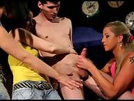 Femdom mistresses plays involving slave