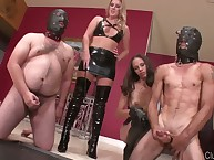 Femdom test in the air great goddeses