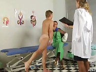 Bound patient acquires medical humiliation