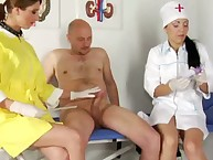 Erection showing for strict nurses