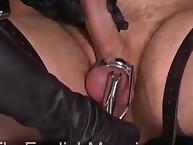 CFNM pain femdom with hawt mistress