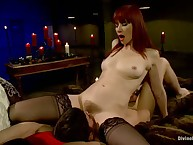 Chillin' mistress Madeline pegged and facesitted a slave