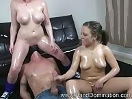 Carmen plays femdom game