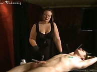 Broad in the beam mistress formidable nude slave