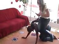 fuzz ball poppet rides her ponyboy