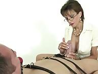 Mature femdom thraldom blowjob