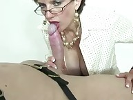 British milf slut blowjob