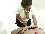 Bondage blowjob milf Lady Sonia