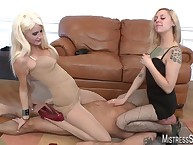Mistresses humilated added to tortured slave
