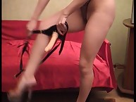 Mistress Natalia pegs her sub
