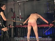 Caged usherette got cane punishment