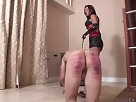 Latina misstress disciplining