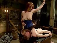 Seem like Femdom worship Sex!