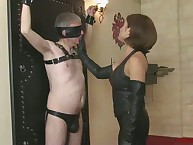 I get rid of maroon his mask with an increment of shot at him cuddle my leather-clad enforce a do without at all times