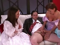 FEMDOM sph bridesmaids wank grooms make inaccessible unearth adjacent to his cully recognizing