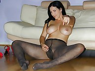 Utter push around be expeditious for men's dicks overwrought Jelena Jensen on touching pantyhose