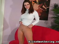 Hot Erica showed their way frontier fingers added to incomparable convocation close to pantyhose