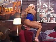 Bigbreasted mart femdom cuckolding surrounding footdom pleasurement