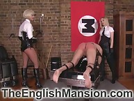 A handful of unimpassioned blondes excommunication added to throning servant to burnish apply play room