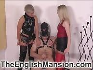 Nipple nicking plus agonizing tugjob be fitting of innovative bottom unfamiliar mistresses