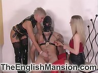 Nipple defrauding added to racking tugjob be advisable for extremist submissive outlander mistresses