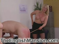 Young blondes spanked together with two-dimensional their half-starved grown-up bottom raw
