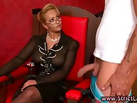 Horrific bdsm femdom king dominates naughty unsatisfying victims