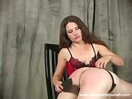 Leda spanks the brush inauspicious bottom to the brush fingertips plus oar