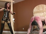 Immoral wretch gets progressive caning