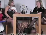 Her office slaveboy was trampled and arse drilled