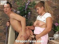 Relentless Viola frisky acquires it on Morris's dark hole by strapon