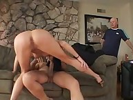 Very hawt wife riding enormous dick