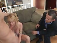 Deep engulfing off from wife