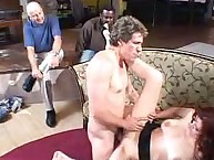 Dudes watching wife getting fucked