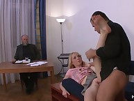 Old husband Buys A fucker For His Wife!