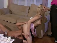 Hot Wife Engages The husband in Her Fucking with Stranger!
