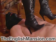 Goddess Lexi was stomping her sub