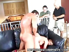 This MILF hotwife adores fucking the shit out of her