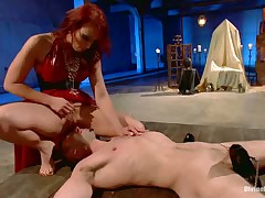 Slave Cole was humiliated