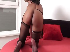 Hot ass worship for hot brunet mistress