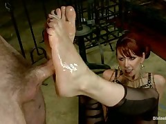Severe cock torture for subby